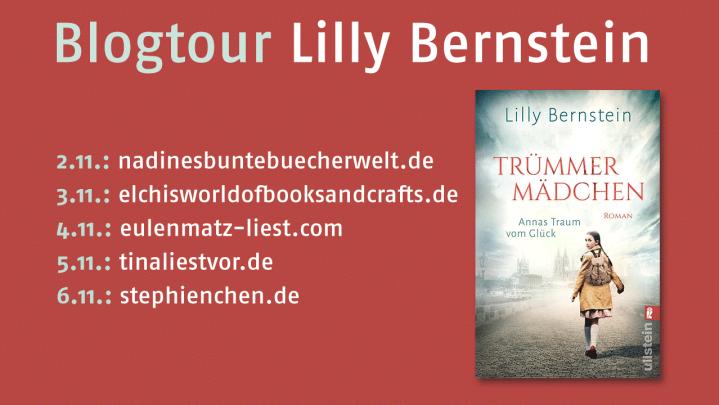 """{BLOGTOUR} Orte und Schauplätze """"Trümmermädchen"""" – LillyBernstein"""